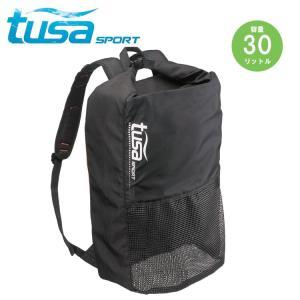 メッシュ バックパック tusa sport/ツサスポーツ UA0302 シュノーケル 軽器材用 バックパック[401030030000]|aqrosnetshop