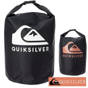 QUIKSILVER クイックシルバー 防水バッグ ドライバッグ ウォータープルーフ 10L 防水 プール ジム バッグ BLOCK SACK 10L QBG201317|aqrosnetshop