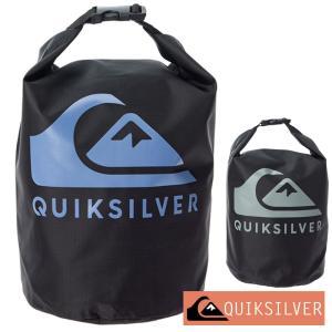 QUIKSILVER クイックシルバー 防水バッグ ドライバッグ ウォータープルーフ 5L 防水 プール ジム バッグ BLOCK SACK 5L QBG201318|aqrosnetshop