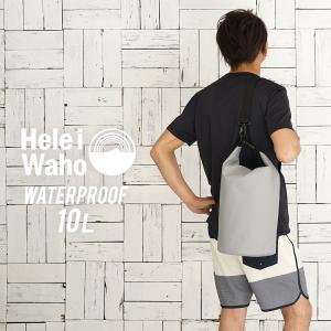 防水バッグ ドライバッグ 10L HeleiWaho ヘレイワホ ウォータープルーフバッグ プールバッグ 防水 バッグ ダイビング サーフィン アウトドア 非常用持ち出し袋|aqrosnetshop