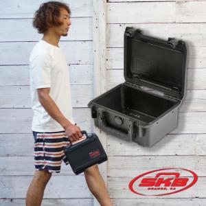 ウォータープルーフ ハードケース SKB エスケービー iSeries 0806-3 ウレタンフォーム無し 防水 防塵 耐衝撃 バッグ|aqrosnetshop