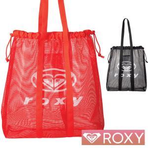 ROXY ロキシー トートバッグ メッシュバッグ レディース ビーチバッグ MIX IT UP RBG202309|aqrosnetshop