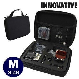 INNOVATIVE/イノベイティブ Go pro用トラベル&ストレージケース Mサイズ【PM010】[405700010000]|aqrosnetshop