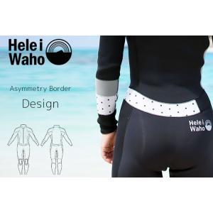 HeleiWaho ウェットスーツ 3mm フルスーツ レディース スーパーストレッチ[50263011]|aqrosnetshop|13