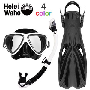 ダイビング マスク フィン スキューバダイビング 度付き 対応 軽器材 セット シュノーケル ブーツ...