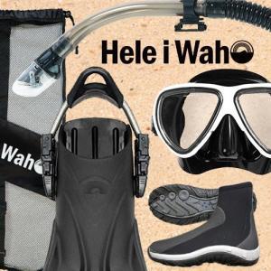 ダイビング マスク フィン スキューバダイビング 度付 対応 軽器材 セット シュノーケル ブーツ ...