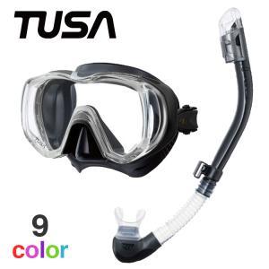 TUSA ツサ AQUALUNG アクアラング スキューバダイビング マスク シュノーケル セット ダイビング 軽器材 2点セット 軽器材セット 【m3001-imp3nf】|aqrosnetshop