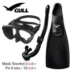 GULL ガル ミュー マンティス 5  ダイビング マスク フィン シュノーケル セット 軽器材 ...