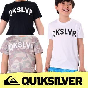 QUIKSILVER ラッシュガード キッズ MW LIFE SS KIDS KLY172110 [60158226] クイックシルバー|aqrosnetshop