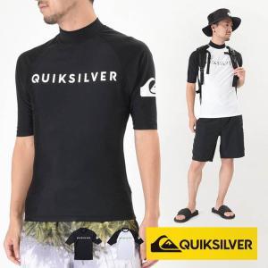 QUIKSILVER ラッシュガード メンズ 半袖 ON TOUR SR QLY181003  クイックシルバー|aqrosnetshop