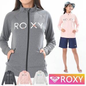 ROXY ラッシュガード 長袖 ジップアップ BOTANICAL LOGO STAND RLY191018   ロキシー aqrosnetshop