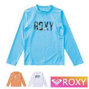 ROXY ラッシュガード 長袖 キッズ ジュニア 子供用 MINI BOTANICAL LOGO TLY191106  ロキシー aqrosnetshop