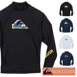 QUIKSILVER クイックシルバー ラッシュガード メンズ 長袖 ALL TIME LR QLY201070|aqrosnetshop