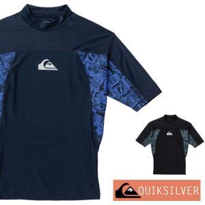 QUIKSILVER クイックシルバー ラッシュガード メンズ 半袖 SLASH SR QLY201075|aqrosnetshop