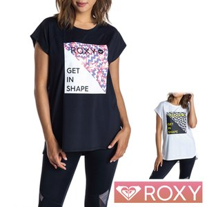 ROXY ロキシー ヨガウェア スポーツウェア レディース Tシャツ 半袖 ラッシュガード ELEY KISHIMOTO SHORT SLEEVE RST201551|aqrosnetshop