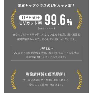 ラッシュガード メンズ HeleiWaho ヘレイワホ 長袖 ジップアップ フードなし UPF50+ で UVカット 大きいサイズ で 体型カバー aqrosnetshop 12