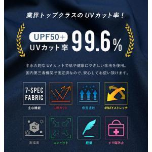 ラッシュガード レディース HeleiWaho ヘレイワホ 長袖 ジップアップ フードなし UPF50+ で UVカット と 大きいサイズ で 体型カバー|aqrosnetshop|12