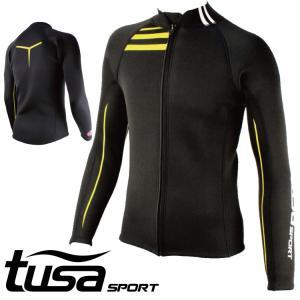 ウエットスーツ ジャケット tusa SPORT/ツサスポーツ ウェットスーツ ジャケット メンズ UA5121[60203007]|aqrosnetshop
