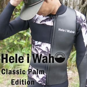 ウェットスーツ タッパー 2mm ウエットスーツ ジャケット(タッパー)メンズ ClassicPalm Limited Edition|aqrosnetshop