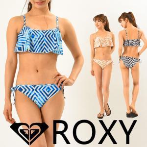 ROXY ロキシー 水着 ビキニ フレア 2点セット レディース HALLUCINATION RSW181004|aqrosnetshop