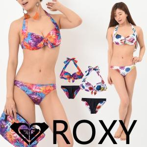 水着 ROXY ロキシー ビキニ 2点セット M / mika ninagawa SWIMWEAR RSW182001|aqrosnetshop