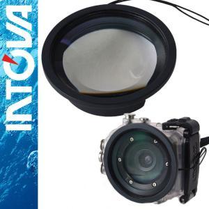防水 デジタルムービーカメラ  INTOVA X2/HD2専用 クローズアップレンズ|aqrosnetshop