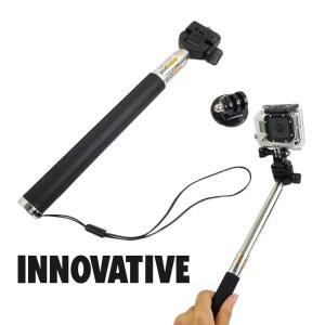 INNOVATIVE/イノベイティブ Go pro用セルフィー 伸縮式【PM0163】|aqrosnetshop