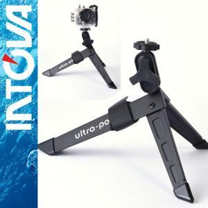 軽量カメラ三脚 intova/イントバ P-UP2-BK-STD ウルトラポッド2|aqrosnetshop