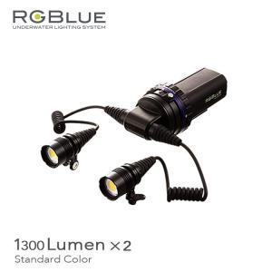 水中ライト RGBLUE/アールジーブルー システム03 スタンダードカラーLEDライト ダイビング|aqrosnetshop