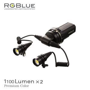 水中ライト RGBLUE/アールジーブルー システム03 プレミアムカラーLEDライト ダイビング|aqrosnetshop