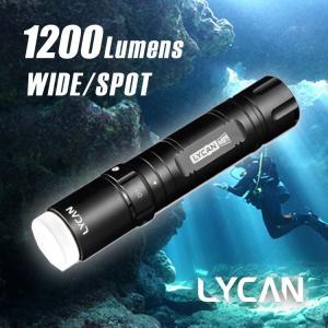 【水中ライト】LYCAN/ライキャン MINI1200|aqrosnetshop