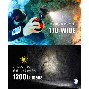 【水中ライト】LYCAN/ライキャン VIDEO1200|aqrosnetshop|03