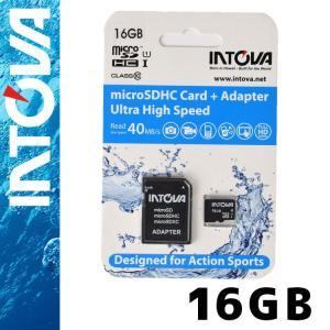 INTOVA micro SDカード 16GB Class 10 マイクロSDカード|aqrosnetshop