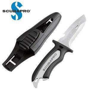 ダイビングナイフ SCUBAPRO/スキューバプロ MAKO チタンナイフ Sプロ ダイビングナイフ|aqrosnetshop
