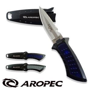 ダイビング用アクセサリー AROPEC ステンレス製 BC ナイフ|aqrosnetshop
