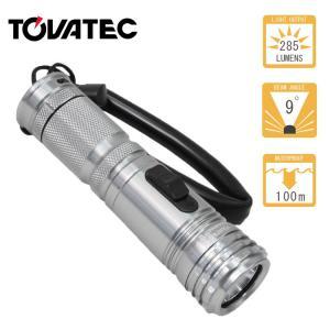 水中 ライト ダイビング  TOVATEC / トバテック   コンパクトトーチ2(285ルーメン)|aqrosnetshop