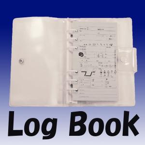【ログブック】ログブック クリアファイル 6穴タイプ[807460050000]|aqrosnetshop
