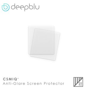 deepblu ディープブルー COSMIQ+(コズミック)  Anti-Glare ディスプレイプロテクタ (2枚)|aqrosnetshop