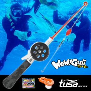 スノーケリングフィッシング TUSA sports Wow Guii UA0512 釣竿 ウォーギー|aqrosnetshop