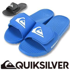 QUIKSILVER クイックシルバー ビーチサンダル メンズ SHORELINE ADJUST AQYL100204 [81158038]|aqrosnetshop