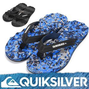 QUIKSILVER クイックシルバー ビーチサンダル メンズ MASSAGE AQYL100045 [81158059]|aqrosnetshop