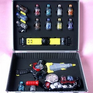 DXビルドドライバー ドリルクラッシャー フルボトル16個収納ケース 仮面ライダービルド(ケース本体...