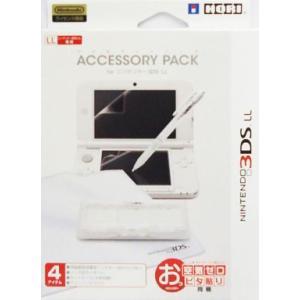 新品 HORI ニンテンドー3DS LL専用アクセサリーパック 3DS-331|aqua-feel