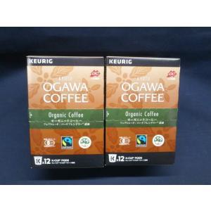 キューリグ 京都 小川珈琲 オーガニックコーヒー( 9g×12P) 2箱 キューリグ 専用カプセル 賞味期限:2020年6月17日|aqua-feel