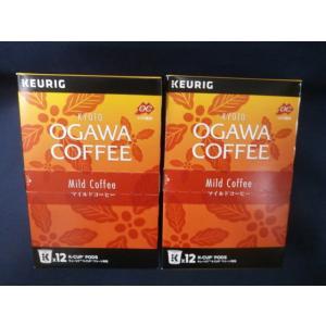 KEURIG K-Cup キューリグ 京都 小川珈琲 マイルドコーヒー (9g×12P)× 2箱 キューリグ 専用カプセル 賞味期限:2020年6月14日|aqua-feel