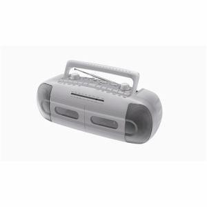 新品 STAYER AM/FMラジオ搭載 カセットテープレコーダー CWRA-SV シルバー aqua-feel