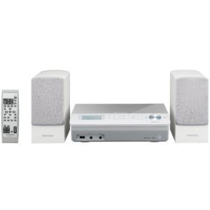 新品 KENWOOD Bluetooth搭載 ミニコンポ M-EA3-W [ホワイト] aqua-feel