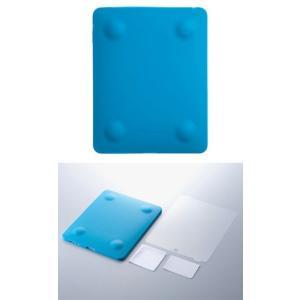送料無料 新品 simplism iPad用シリコンケース TR-SCIPAD-BL 【代引き・配送日時指定不可】|aqua-feel