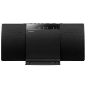 新品   Pioneer CDミニコンポ X-SMC01BT-K [ブラック] aqua-feel