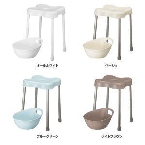 お風呂グッズ バスチェア 手桶 湯桶 L セット|aqua-inc|02